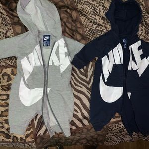 2 one piece zip up Nike outfits